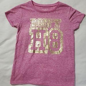 """Don't H8"" girls t-shirt"